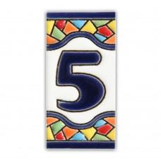 Numarul 5 model Gaudi