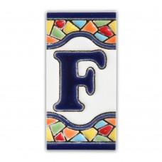 Litera F model Gaudi