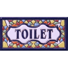 """Placuta ceramica """"Toilet"""""""