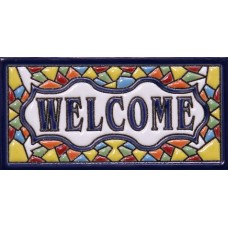 "Placuta ceramica ""Welcome"""